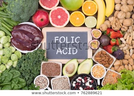 żywności bogate kwas zdrowych produktów kobieta Zdjęcia stock © furmanphoto