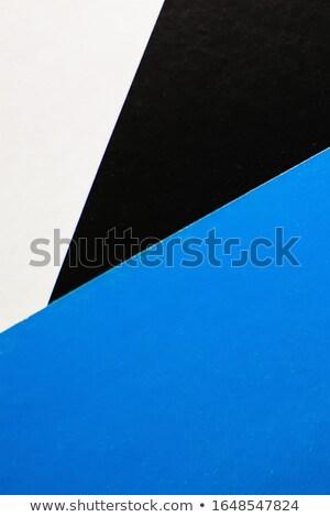 stack sheets and palette color tone graphic design Stock photo © yupiramos