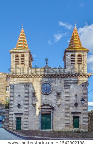 Capilla Francia catedral cielo Christian antigua Foto stock © borisb17