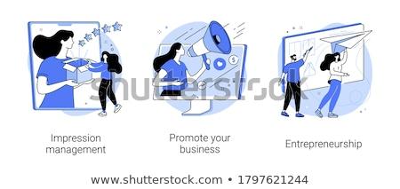 Entrepreneurship and business risk vector concept metaphor Stock photo © RAStudio