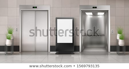 Elevator in lobby Stock photo © creisinger