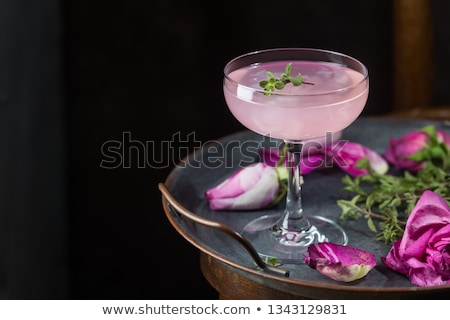 pink cocktail Stock photo © oblachko