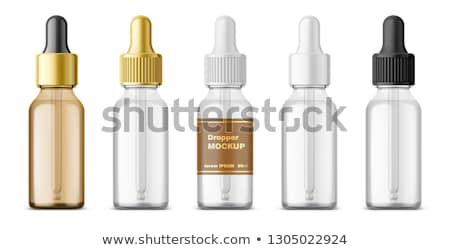 aromatherapie · fles · geïsoleerd · witte - stockfoto © melpomene