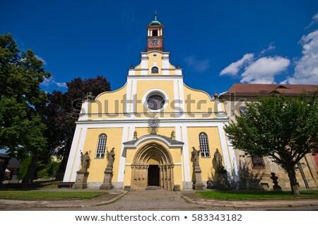 kerk · maagd · onderstelling · politie · Tsjechische · Republiek · gebouw - stockfoto © phbcz