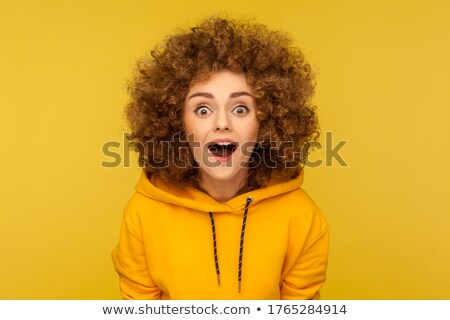 Portrait of a woman in disbelief Stock photo © photography33