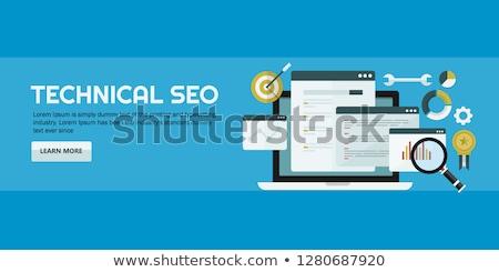 SEO text conception Stock photo © deyangeorgiev
