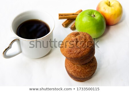 coffee and cinnamon muffins stock photo © joannawnuk
