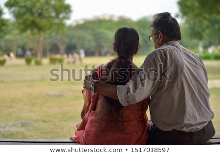 elderly citizen and his spouse Stock photo © photography33