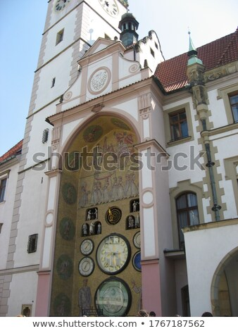 detailed view of cathedral in olomouc stock photo © frank11