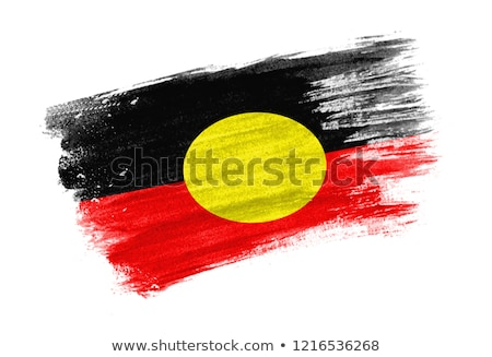 flag of aboriginal Stock photo © tony4urban