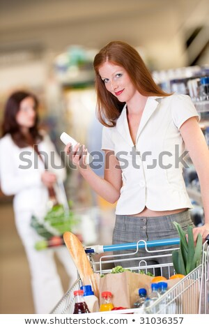 Shopping series - Red hair woman stock photo © CandyboxPhoto