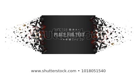 afiş · arka · plan · çerçeve · sanat · imzalamak · Retro - stok fotoğraf © Sylverarts