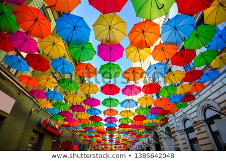 floating vibrant colors Stock photo © prill