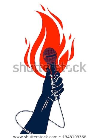 Hot Music Stock photo © idesign