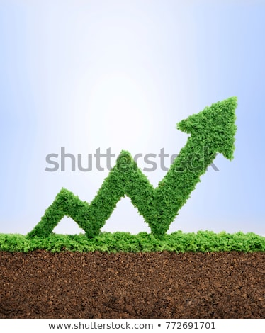 verde · eco · grama · vidro · símbolo · água - foto stock © MONARX3D