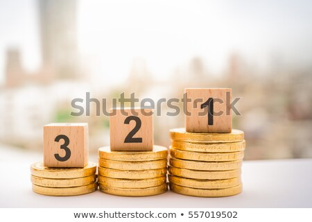 Three stacks of coins stock photo © a2bb5s