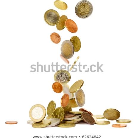 dinero · cielo · stock · imagen · caer · alrededor - foto stock © pterwort