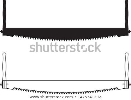 crosscut saw stock photo © kornienko