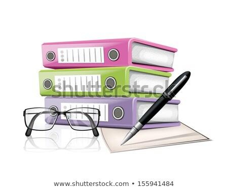 File document icons2 Stock photo © Genestro