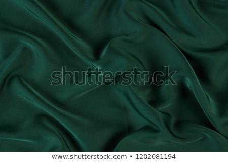 Stock photo: Elegant soft green satin texture