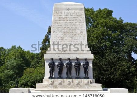 Guards War Memorial Horse Guards Parade London Uk Foto d'archivio © chrisdorney