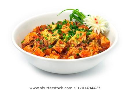 приготовленный Тофу овощей обеда азиатских растительное Сток-фото © M-studio