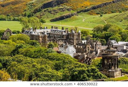 宮殿 エディンバラ スコットランド 家 城 アーキテクチャ ストックフォト © TanArt