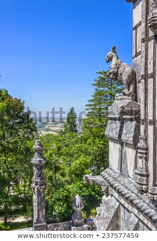 Old European Arhitecture  / Quinta da Regaleira Palace in Sintra Stock photo © Taiga