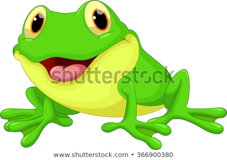 Happy Frog Cartoon Stock photo © fizzgig