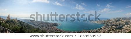 Vallei Libanon bos landschap bergen interieur Stockfoto © travelphotography