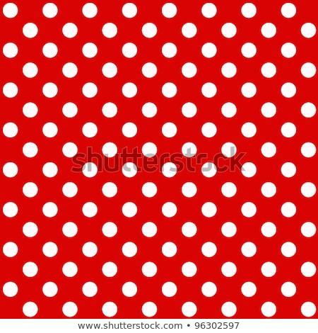 Piros pöttyös végtelenített textúra minta absztrakt Stock fotó © creative_stock