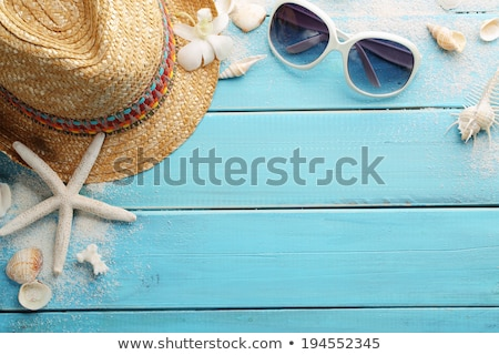 Summertime at the beach Stock photo © sunabesyou