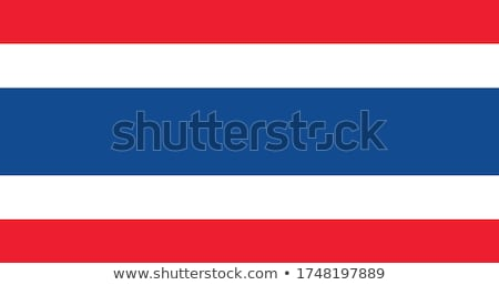national colours of Thailand Stock photo © perysty