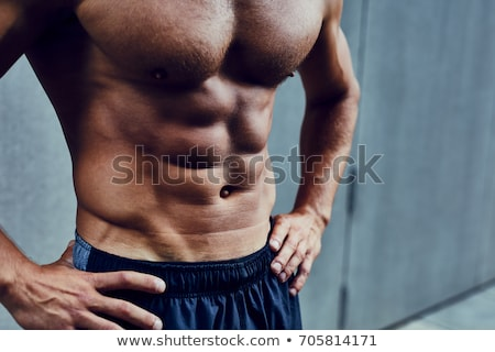 Perfect abs. Stock photo © lithian