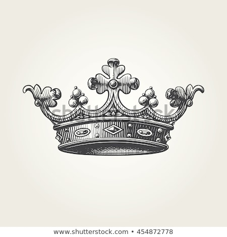 Crown Engraving Stock photo © HypnoCreative