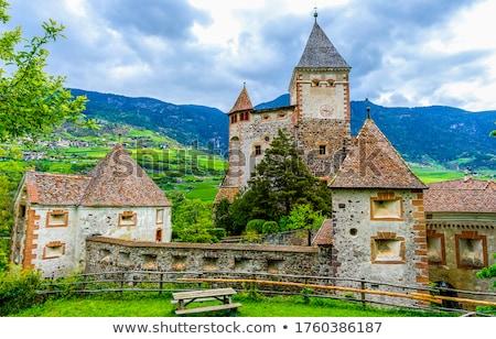 klooster · complex · centraal · Spanje · opknoping · klif - stockfoto © photosil