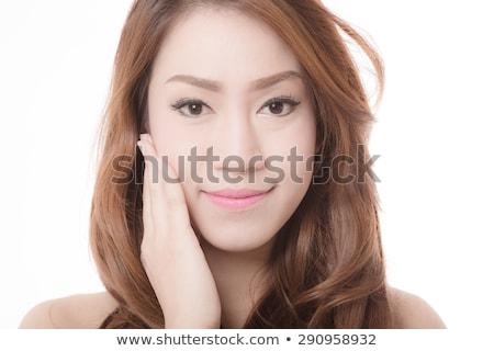 тайский красоту идеальный кожи изолированный белый Сток-фото © tommyandone