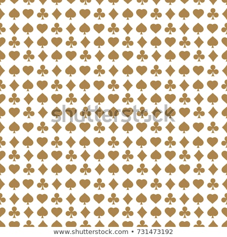 Seamless background of card suits, hearts, spades, clubs, diamonds Stock photo © elenapro