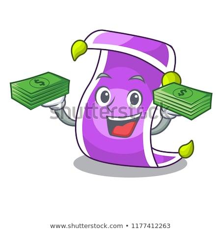 ストックフォト: お金 · フライ · 外に · 魔法 · ランプ · ビジネス