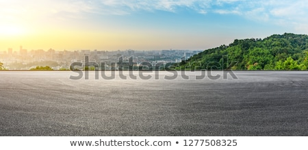 Asphalting roads Stock photo © smuki