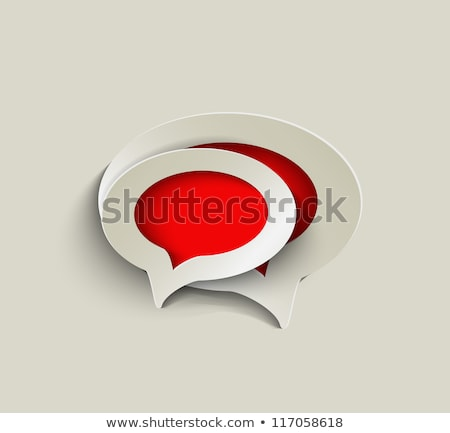Live Chat. Retro label design. Stock photo © tashatuvango