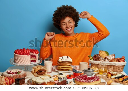 sweet tooth yummy delightful delicacy! Stock photo © Giulio_Fornasar