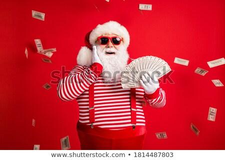 Senior man glimlachend hand wang mannen Stockfoto © bmonteny