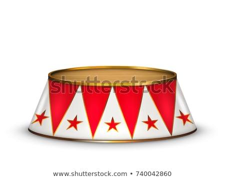 circus · tent · groep · element · horizontaal · carnaval - stockfoto © lightsource