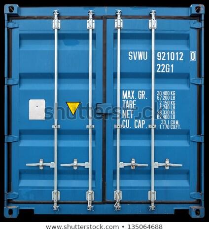raktár · sok · nagy · tarka · teherautók · technikai - stock fotó © tashatuvango