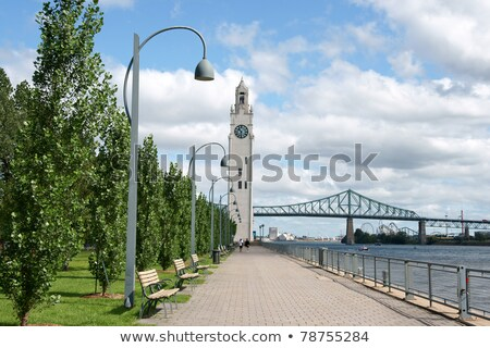 Glimpse of Montreal, Canada Stock photo © aladin66