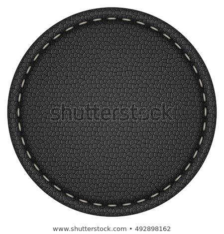 Best Quality Leather Label Tag Stock photo © stevanovicigor