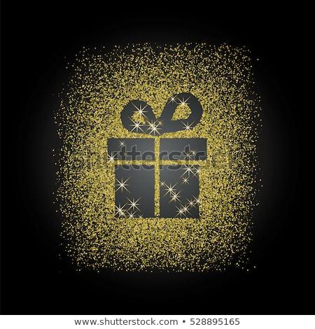 christmas offer gold vector icon button stock photo © rizwanali3d