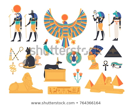 ancient egypt color image of anubis Stock photo © Mikko