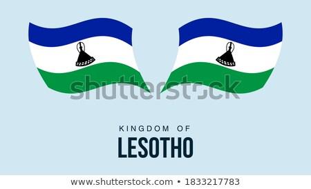 button as a symbol  LESOTHO Stock photo © mayboro1964